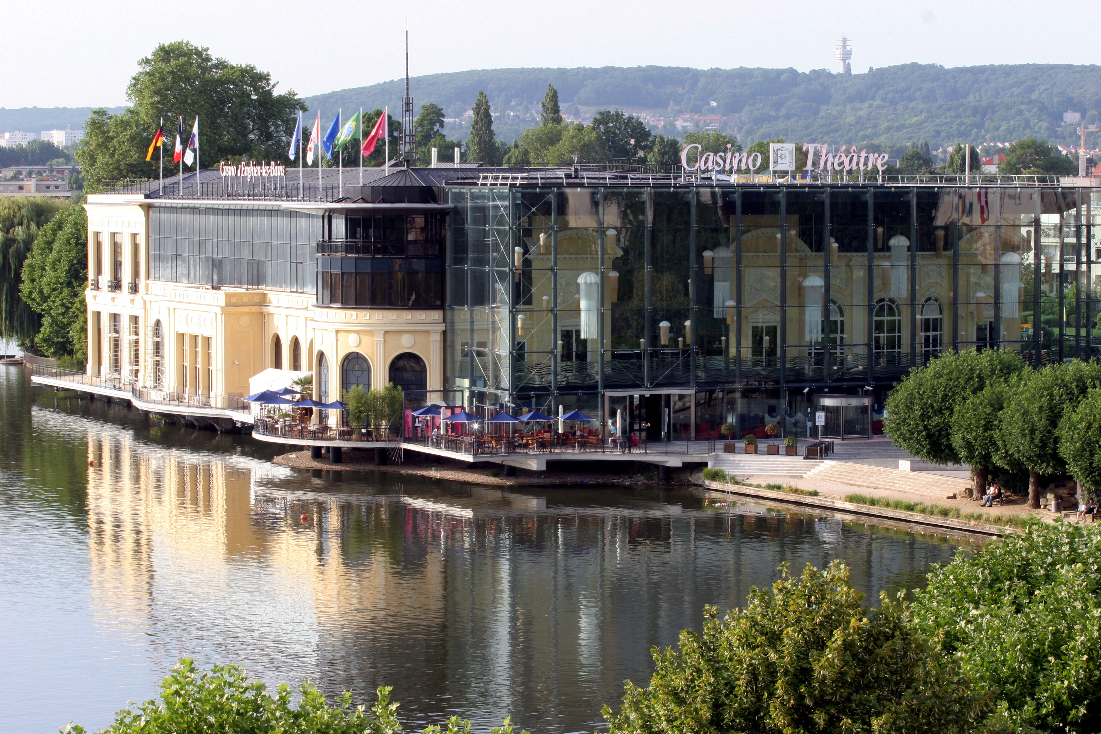 enghien les bains tourist office and business centre