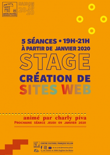 Stage // Création de sites web