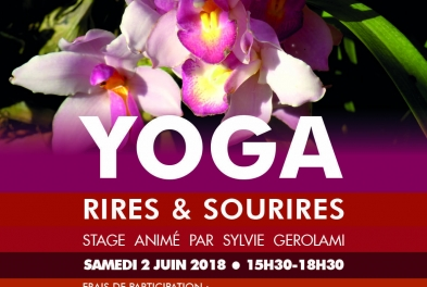 Stage // Yoga : rires & sourires