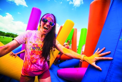 Sport // Color obstacle Rush