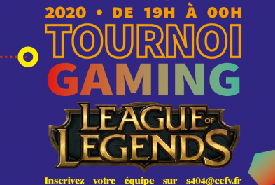 Tournoi gaming // League of Legends